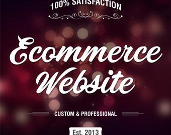 Ecommerce Website, Custom Website Design, Shopping Website, Online Shopping Store, Online Shop, Online Store, Wordpress Website, Woocommerce