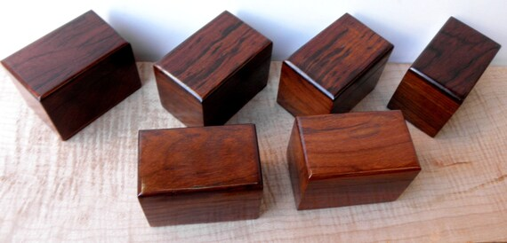 """Rosewood Keepsake Memorial Cremation Urn...Constant Supply On Hand 3.5"""" x 2.25"""" x 2.5"""""""