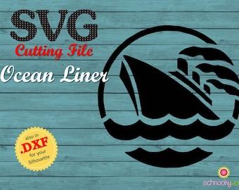 SVG ship, SVG Boat, SVG Ocean Liner, ship,  boat, maiden voyage, steamship, steamer