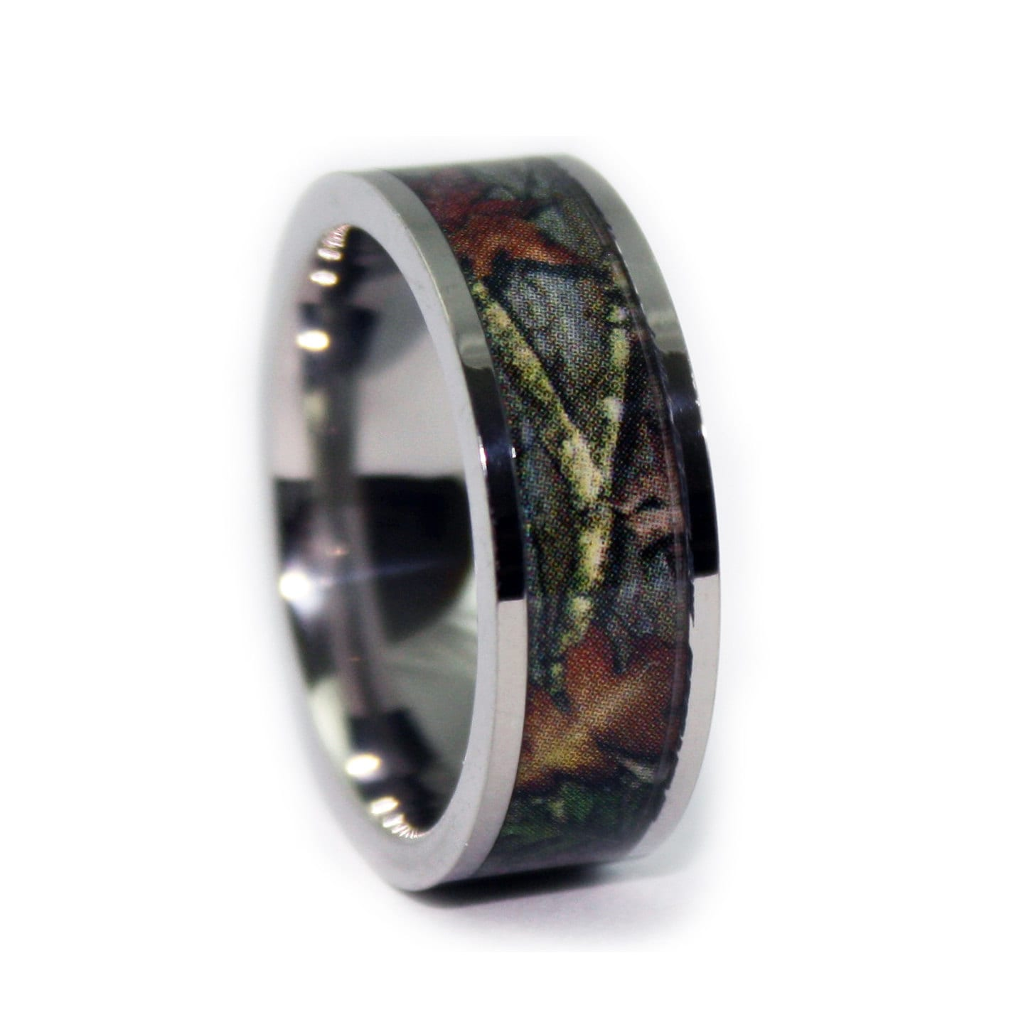 wedding discover leaf realistic bands camo ceramic in her men s ring rings him for