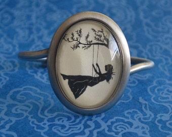 GIRL on a SWING Bracelet - Silhouette Jewelry