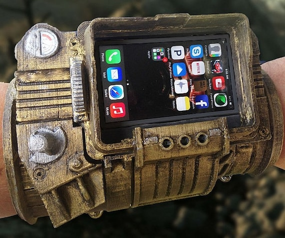 iphone pip boy pipboy 3000 diy phone 8453