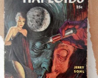 1953 1st Lion Printing The Haploids Jerry Sohl Pulp Sci Fi