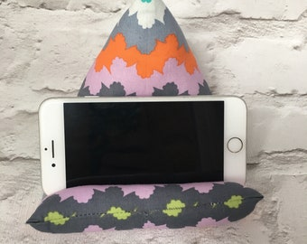 Phone/Tablet Cushion // Phone Stand // Tablet Stand // Phone Pillow // Tablet Pillow // iPhone Samsung Galaxy iPad // Beanbag // E-Reader