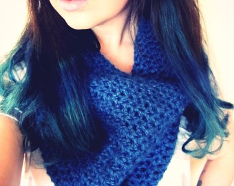 Crochet PATTERN PDF - Cowl Pattern -Infinity Scarf - Circle Scarf  - Easy - Women - Unisex - Teen - Adult - Softspoken - Pattern No. SS005