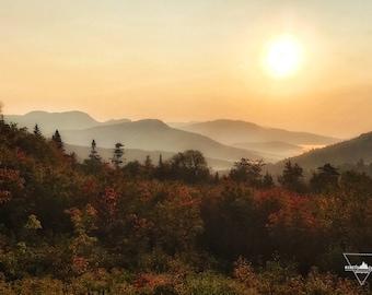 Kancamagus Highway Sunrise - Conway, NH - Photography