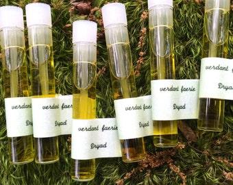 Dryad Eau de Parfum, Botanical Vegan Perfume, Natural Unisex Body Fragrance, Sample Perfume