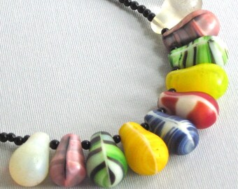 African Wedding Bead Necklace
