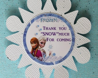 8 Frozen Party Favor Boxes, 8 Elsa and Ana party favor boxes