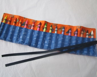 Police and Fire Rescue Crayon Roll-16 crayons included