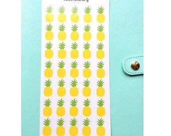 Pineapple Sticker Sheet