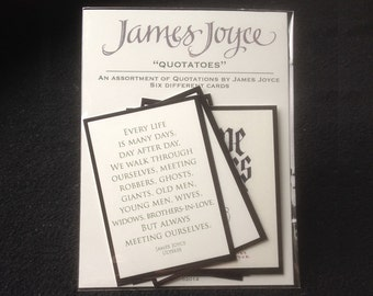 "James Joyce ""Quotatoes"" Trading Cards"