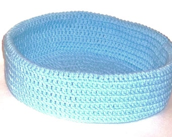 CatBed, Pet Bed,Storage Organizer, Crochet Basket
