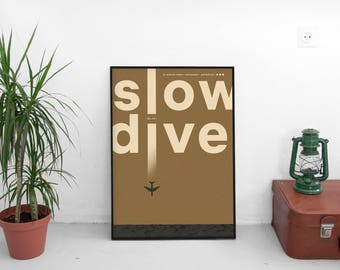 Slowdive | digital print | 50x70 cm