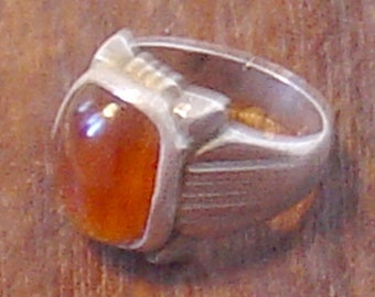 old orientale ring with stone