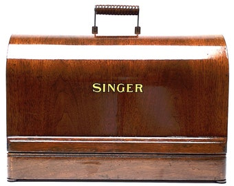 1920-30's SINGER 3/4 3 Quarters Sewing Machine Case for 99k VS-3 28 128K Restored by 3FTERS