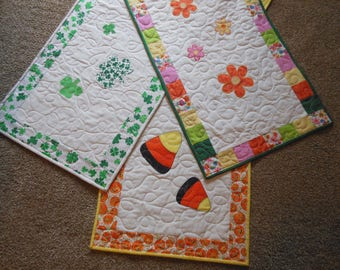 Seasonal Table Runners Set 2 PDF Quilt Pattern
