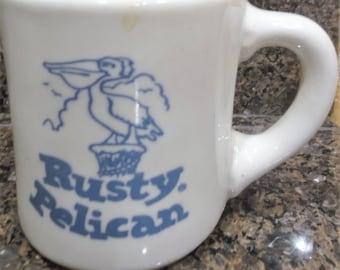 Vintage Rusty Pelican Mug
