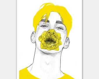 """A4 """"Yellow II"""" - Open Edition Print"""