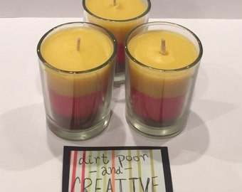 Baked Apple Votive Candles (set of 3)