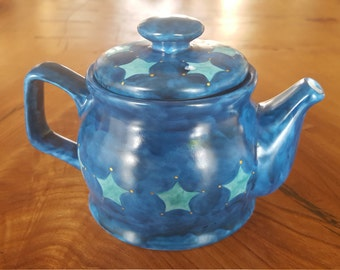 Blue Star teapot (one cup or two cup)