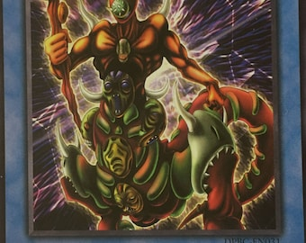Yu-Gi-Oh Card The Masked Beast 1st Edition