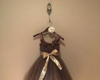 Brown tutu dress