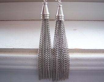 Dangle Earrings - Chain Earrings - Retro Earrings -Dance Earrings