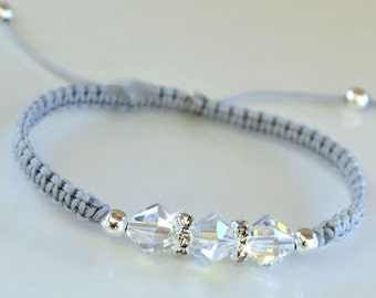 Swarovski Crystal Friendship Bracelet