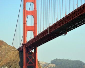 Golden Gate Bridge, San Francisco, California - October 2017