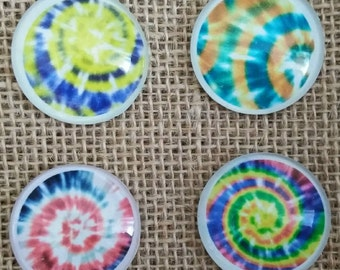 Cool Magnets - Kalidescope Magnets, Kalidescope Magnet - Tie Dye Magnets - Love Magnets - Refrigerator Magnets - Birthday Gift
