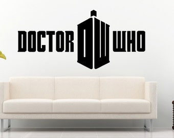 Doctor Who Wall Decal Wall Stickers Large 123 cm X 58 cm