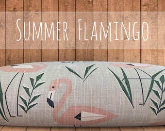 Dog Bed Cover, NEW Summer Flamingo Collection, Dog Bed Duvet Cover, Cat Bed Cover, SM to XL Covers for Dog Beds, Designer Bed Cover
