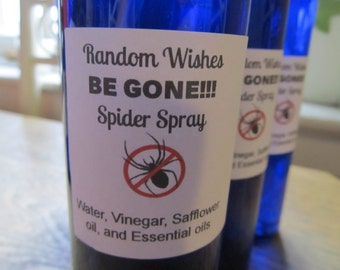 BE GONE Spider Spray, Repellent, Spider repellent, Natural spray, Chemical free