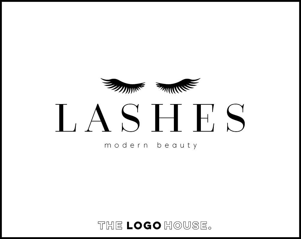 Lash Logo Design Classy Beauty Salon