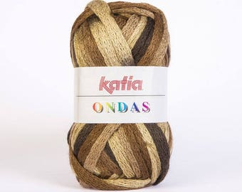 Wool Katia ONDAS ref 97 1 ball = 1 scarf