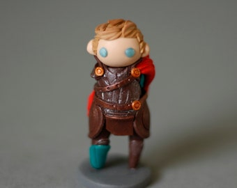 Thor, Ragnarok, God of Thunder, Lightening, Chibi, Figurine, Polymer Clay