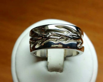Crown of thorns ring/ wedding band