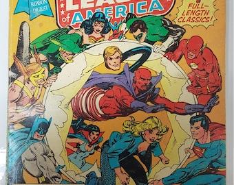Justice League of America JLA Special Initiation Issue Batman Superman Vintage