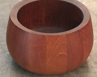 1960s Vintage Dansk Teak Serving Bowl