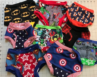 Toddler Training Pants - Potty Training - Cloth Trainers - Boxers - Briefs - Panties
