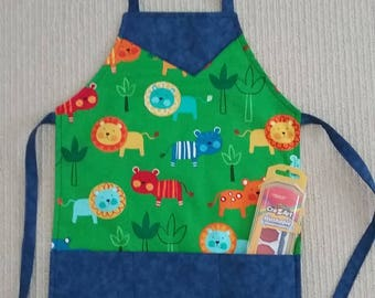 Craft apron, toddler, young child