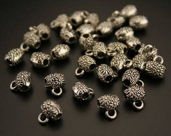 35 bails in antique silver. (ref:3061).