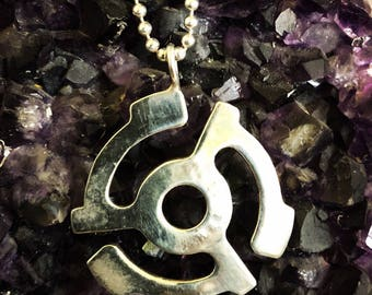 Sterling silver 45 disc