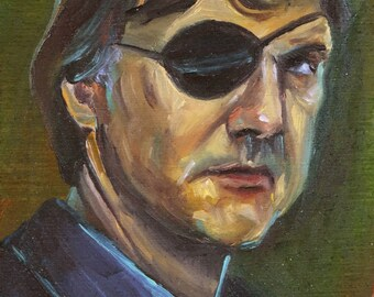 The Governor | Archival Print Portrait of David Morrissey from Walking Dead by Jess Kristen