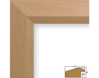 "Craig Frames, 8x8 Inch American Maple Picture Frame, Balla 1.5"" Wide (170150808)"