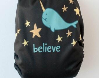 Narwal Believe AI2 OS Snap Closure Diaper