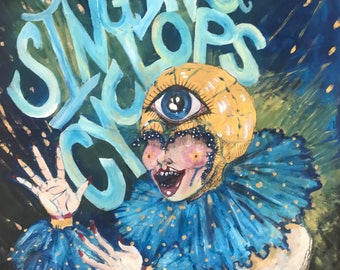 The Singing Cyclops Circus Painting