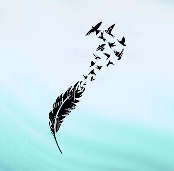 description aerial flying birds - photo #11