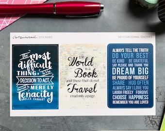 Big Quotes 02 Artsunami Planner Journaling Scrap-booking Stickers